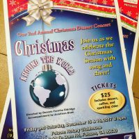 Christmas Around the World Dessert Concert