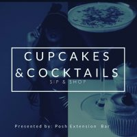 Cupcakes and Cocktails Sip and Shop