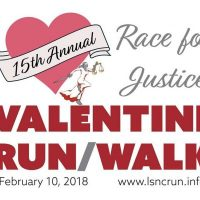 Race for Justice Valentine Run/Walk