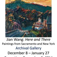 Jian Wang: Here and There: Paintings from Sacramento to New York