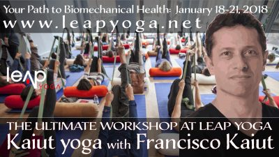 Leap Yoga: The Ultimate Kaiut Yoga Workshop with Founder Francisco Kaiut