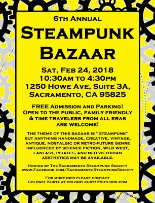 6th Annual Steampunk Bazaar
