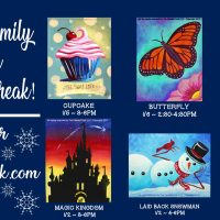 Fireworks Celebration New Year's Eve Paint Night
