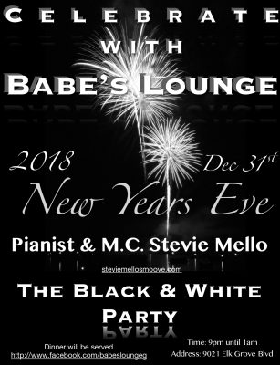 Stevie Mello New Year's Eve Concert
