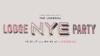 The LowBrau Lodge New Year's Eve Party