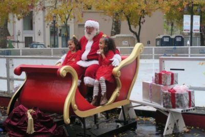 Santa Photo Day (Downtown Sacramento Ice Rink)