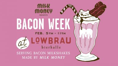 Milk Money Bacon Boozy Milkshakes (Sacramento Bacon Fest)