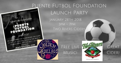 Puente Futbol Foundation Launch Party