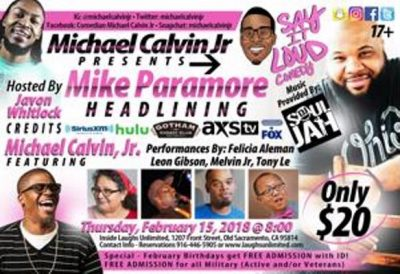 Say it Loud Comedy presented by Michael Calvin, Jr.
