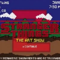 Stranger Things 2 Tribute Art Show