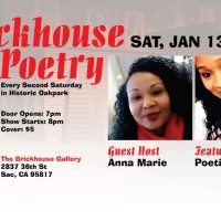 2nd Saturday at The Brickhouse: Poetry by Poetic Butterfly