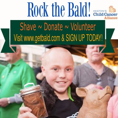 Rock the Bald: St. Baldrick's Shaving Event