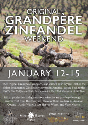Original Grandpère Vineyard Weekend