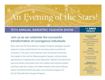 UC Davis Bariatric Surgery Fashion Show