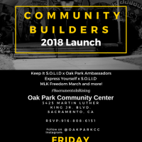 Community Builders 2018 Launch