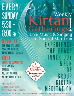Sunday Night Rockin' Kirtan
