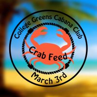 College Greens Cabana Club Crab Feed2018