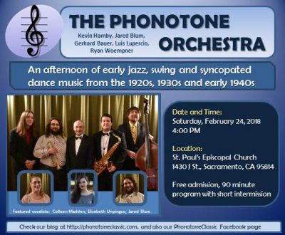 Phonotone Orchestra Concert