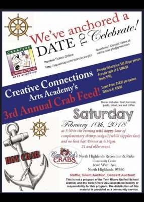 Creative Connections Art Academy Crab Feed and Sil...