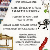 Sacramento Weavers and Spinners Guild Open House and Sale