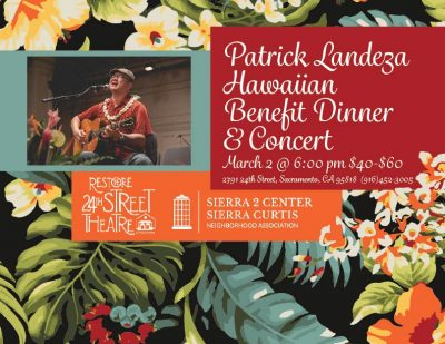 Patrick Landeza Hawaiian Benefit Dinner and Concert