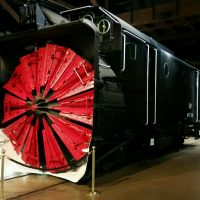 Snowbound in the Sierra: Rotary Snowplow Exhibit