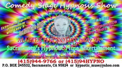 Comedy Stage Erotic Hypnosis Show
