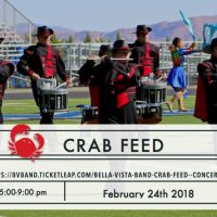 Bella Vista Band Crab Feed and Concert Fundraiser