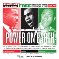 Black History Month: Power on Earth