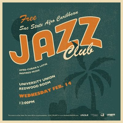 Wednesday Nooner: Sac State Afro Caribbean Jazz Club