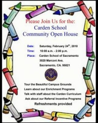 Carden School: Community Open House