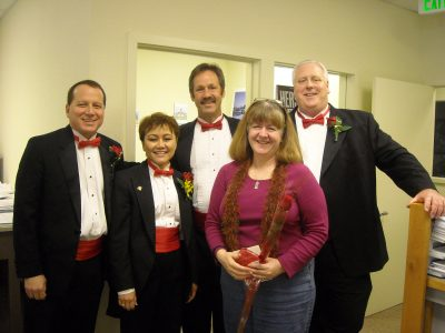 The Sacramento Capitolaires Singing Valentines