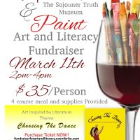 Sip and Paint Art and Literacy Fundraiser