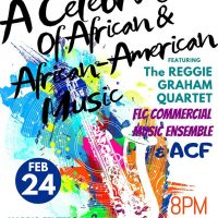 Reggie Graham Quartet: A Celebration of African and African-American Music