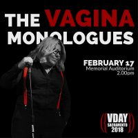 V Day Sacramento 2018: The Vagina Monologues