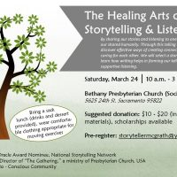 The Healing Arts of Storytelling and Listening Workshop