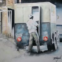 Different Strokes for Different Folks: Telagio Baptista Watercolor Workshop