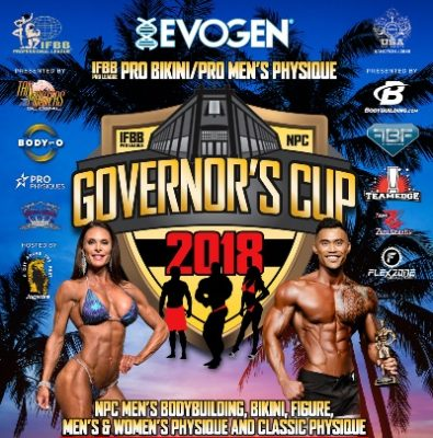 2018 IFBB Pro League/NPC Governor's Cup Judging Round