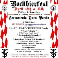 Sacramento Turn Verein's 50th Annual Bockbierfest