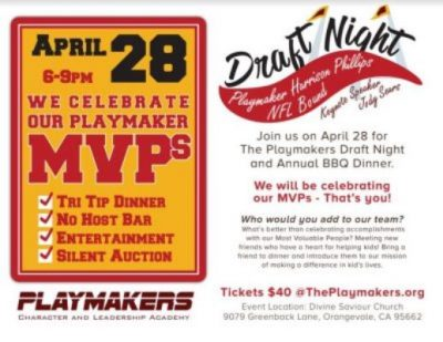 The Playmakers Draft Night and Annual BBQ