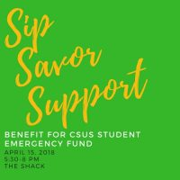 Sip, Savor, Support: Benefit for CSUS Student Emergency Fund