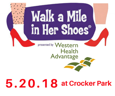 Walk a Mile in Her Shoes 2018