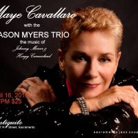 Maye Cavallaro with The Jason Myers Trio