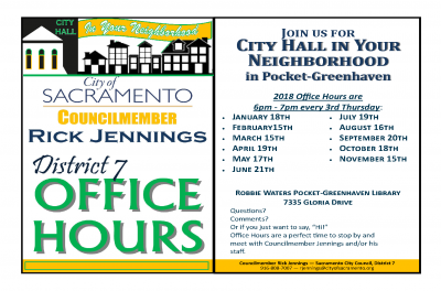 District 7 Office Hours (July)