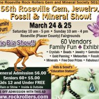 Roseville Gem, Jewelry, Fossil, and Mineral Show