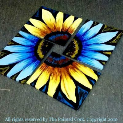 Sunflower Double Canvas Paint Party
