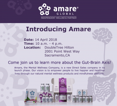 Amare Global Launch Tour: The Gut-Brain Axis
