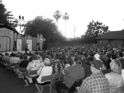 Comedy Under the Stars (August)