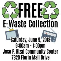 Free E-Waste Collection