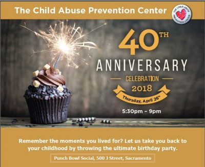 The Child Abuse Prevention Center 40th Anniversary...